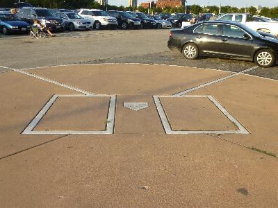 Comiskey Park Home Plate