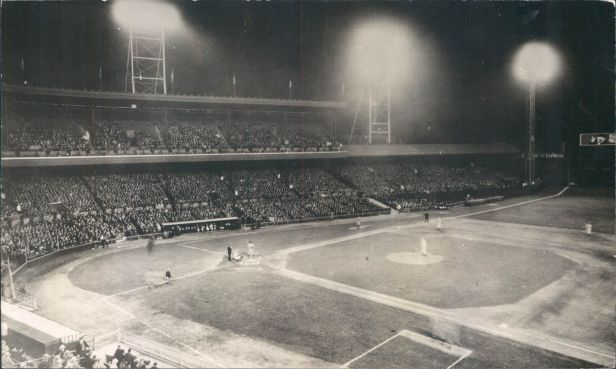 Crosley Field 1st Night Game