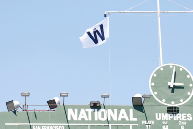 Cubs Win Flag