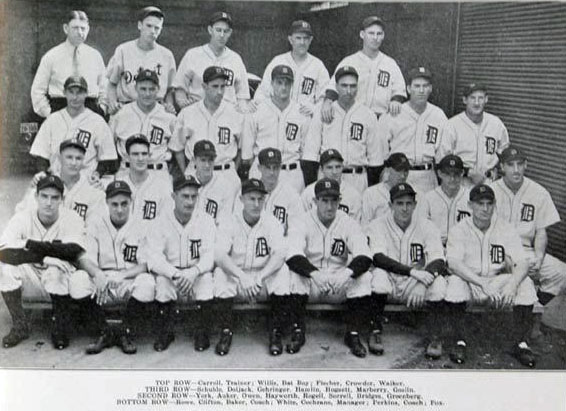 Detroit Tigers 1934