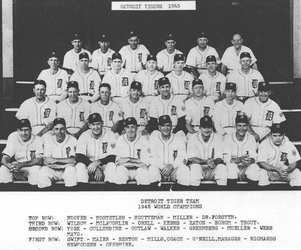 Detroit Tigers 1945