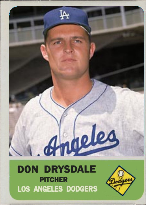 Don Drysdale 5