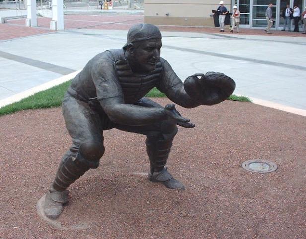 Ernie Lombardi Statue
