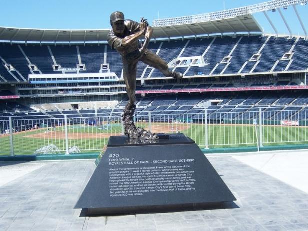 Frank White Statue