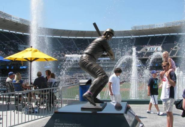 George Brett Statue