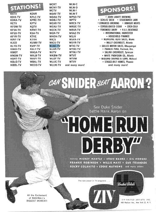 Home Run Derby - 1961