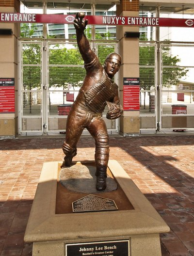 Johnny Bench Statue