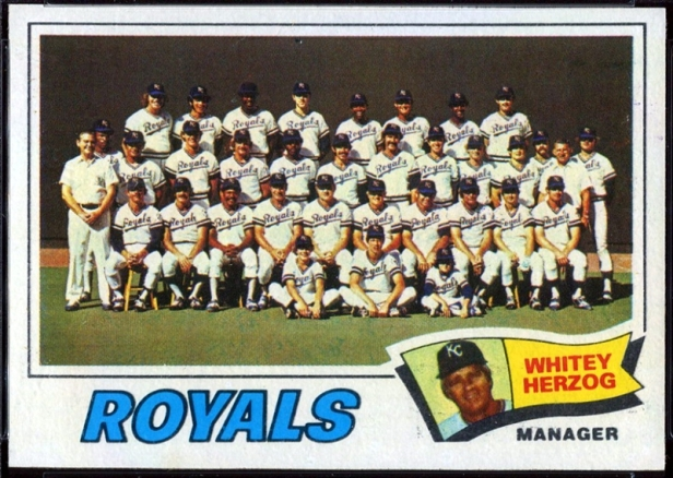 Kansas City Royals 1977