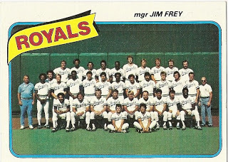 Kansas City Royals 1980