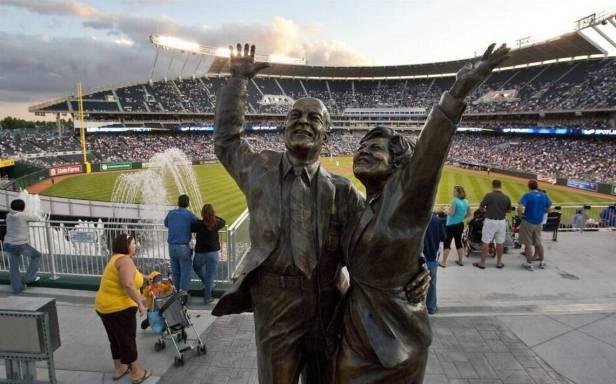 Kauffman's Statue