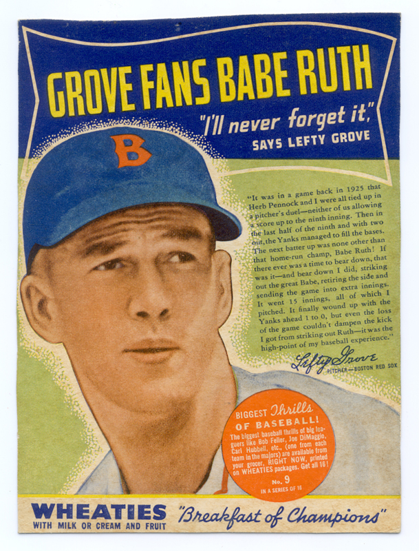 Lefty Grove 13