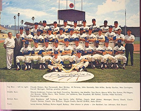 Los Angeles Dodgers 1966