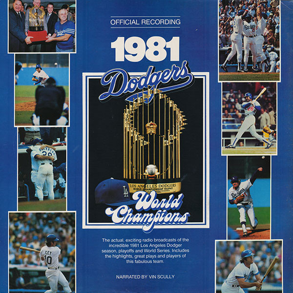 Los Angeles Dodgers 1981