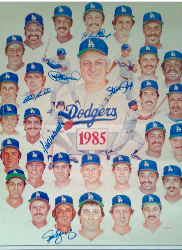 Los Angeles Dodgers 1985