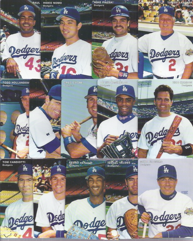 Los Angeles Dodgers 1996
