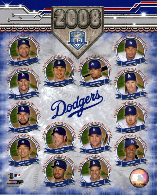 Los Angeles Dodgers 2008