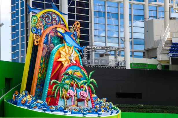 Marlins HR Sculpture