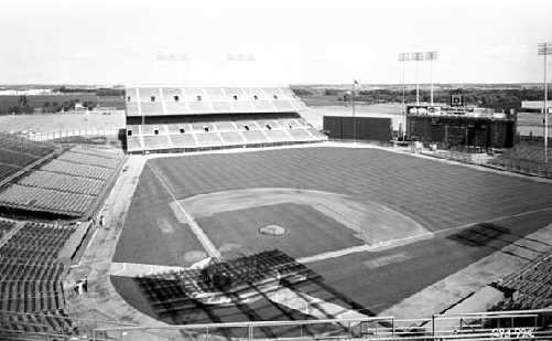 Metropolitan Stadium Flagpole