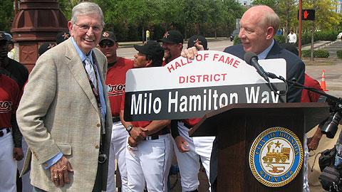 Milo Hamilton Way