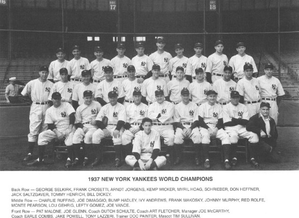 New York Yankees 1937