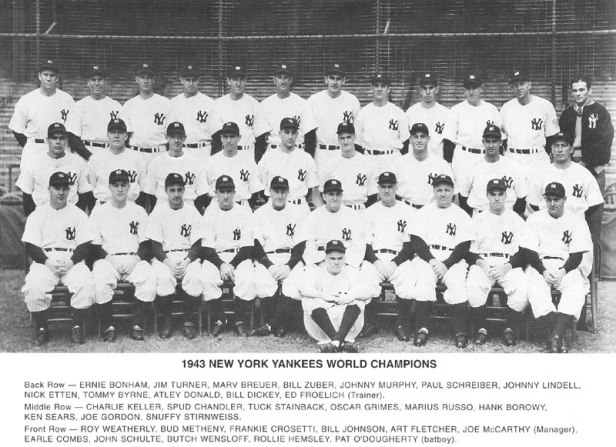 New York Yankees 1943