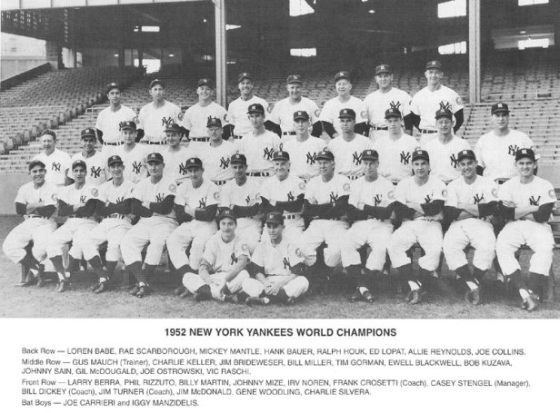 New York Yankees 1952