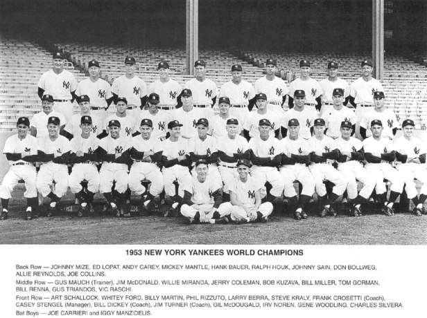 New York Yankees 1953