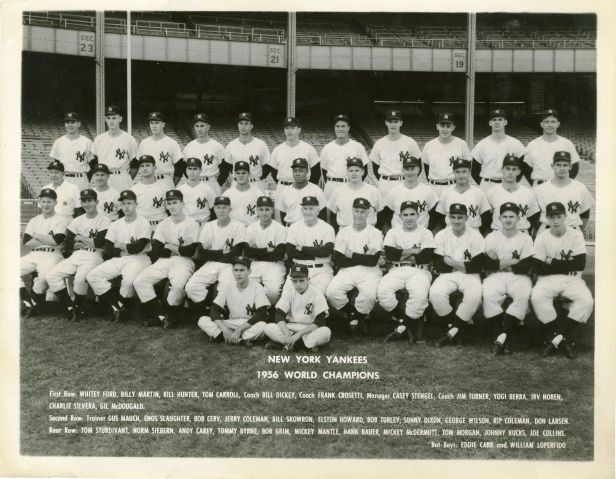 New York Yankees 1956