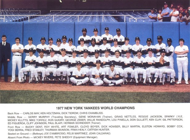 New York Yankees 1977