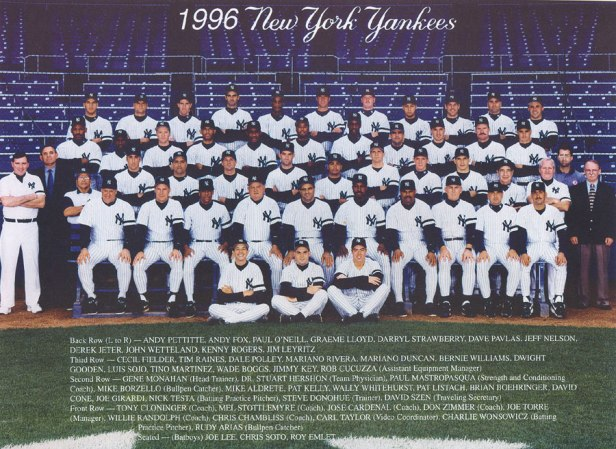 New York Yankees 1996