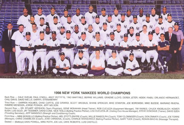 New York Yankees 1998