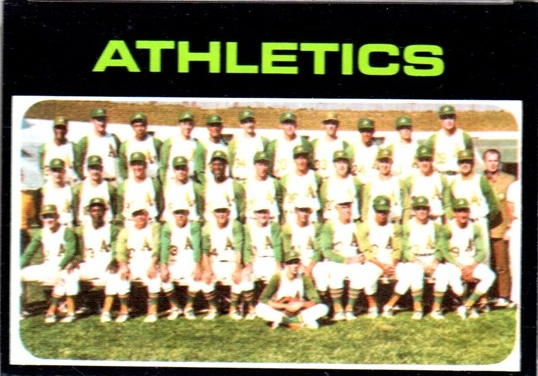 Oakland A's 1971