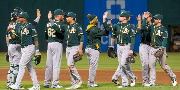 Oakland Athletics v Cleveland Indians
