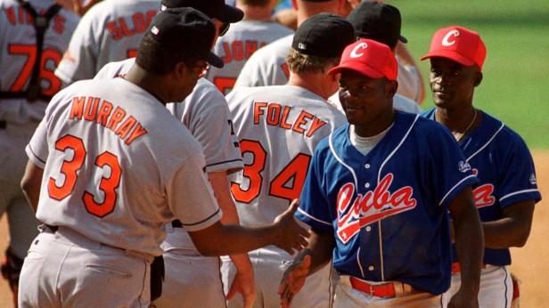Orioles vs. Cuba