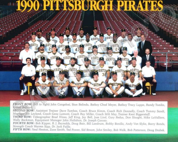 Pittsburgh Pirates 1990