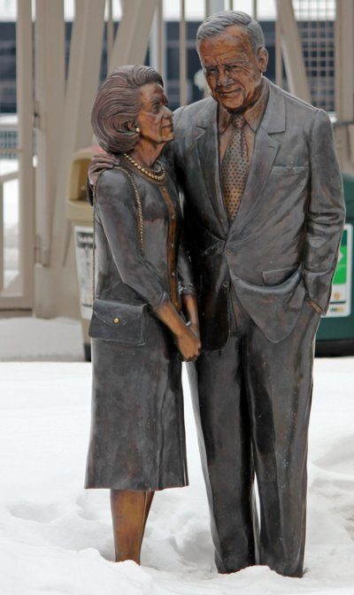 Pohlads Statue