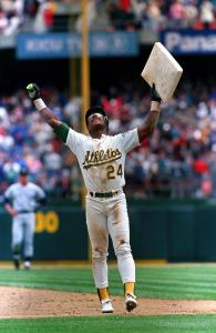 Oakland Athletics Rickey Henderson