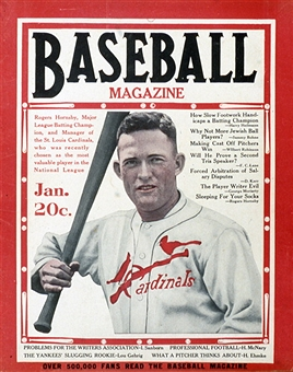 Rogers Hornsby 12