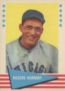 Rogers Hornsby 13