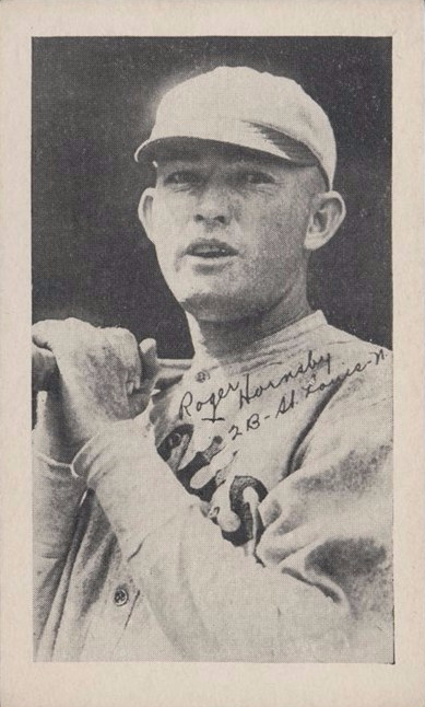 Rogers Hornsby 14