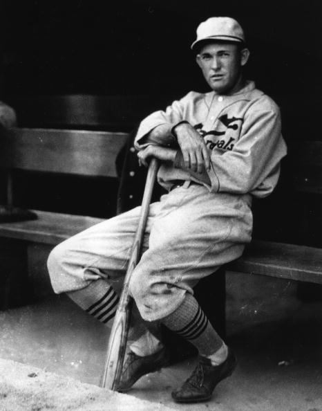 Rogers Hornsby in the Dugout