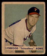 Schoolboy Rowe 1949