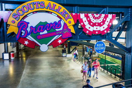 Scouts Alley - Turner Field