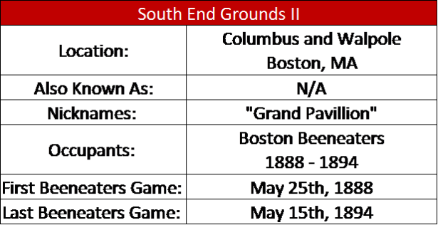 South End Grounds II I