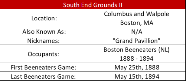 South End Grounds II