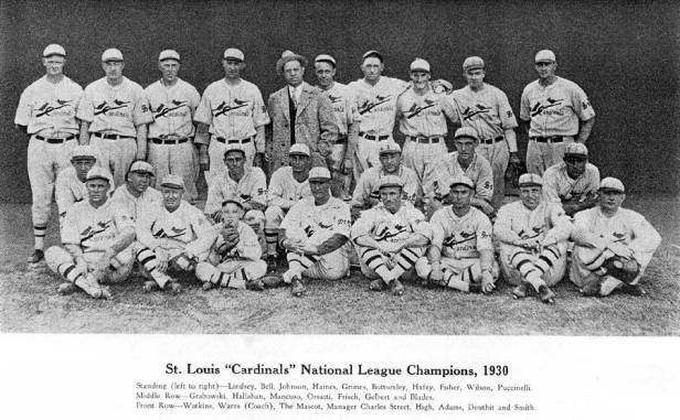 St. Louis Cardinals 1930