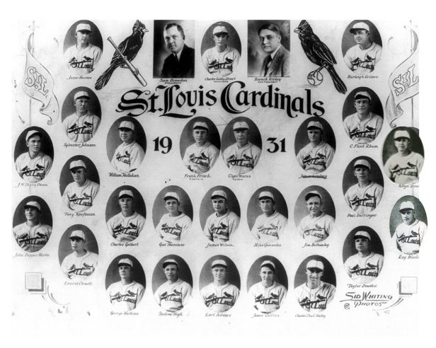 St. Louis Cardinals 1931