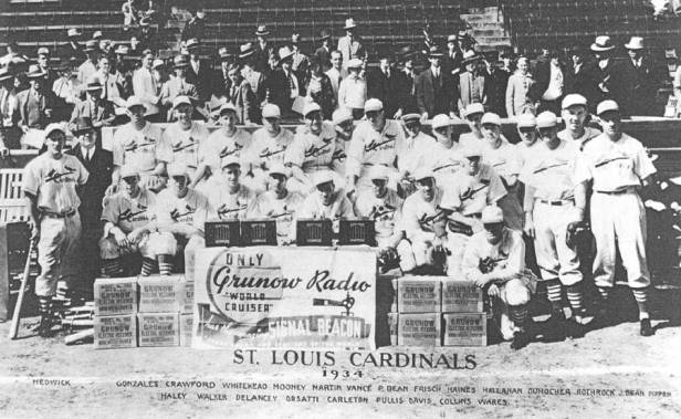 St. Louis Cardinals 1934