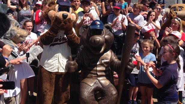 TC Bear Statue