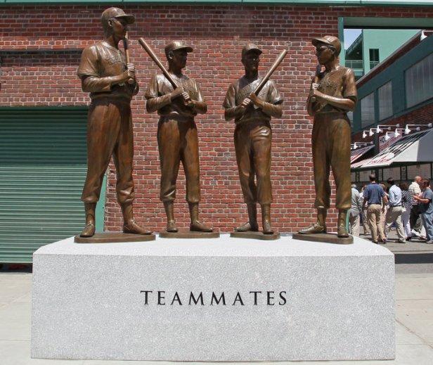 Teammates Statues